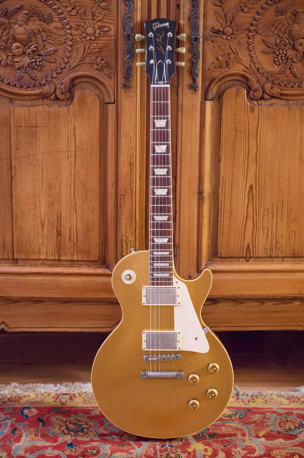 1999 Gibson Historic Les Paul Standard 57 Reissue GOLDTOP R7 For Sale