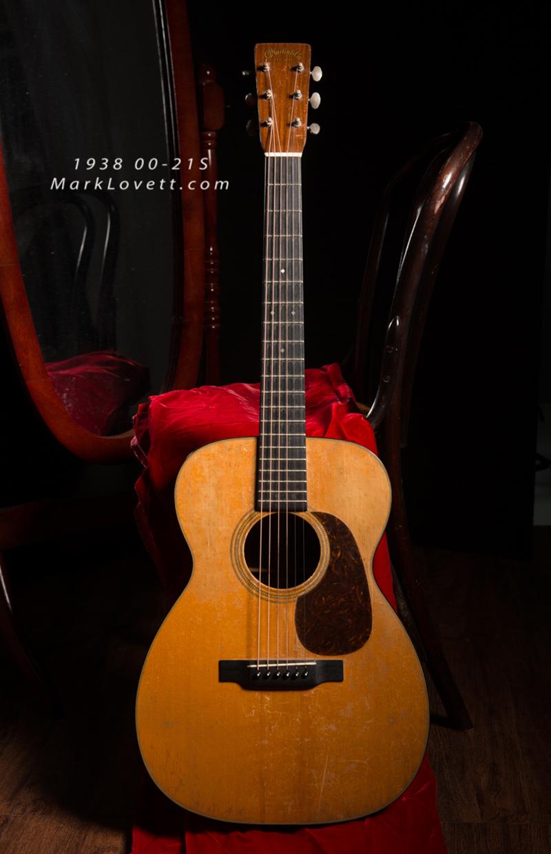 1938 Martin 0021S original